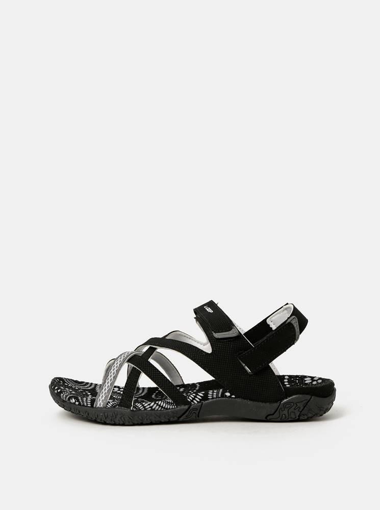 LOAP Čierne dámske sandále LOAP Caipa