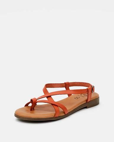 Oranžové sandále OJJU